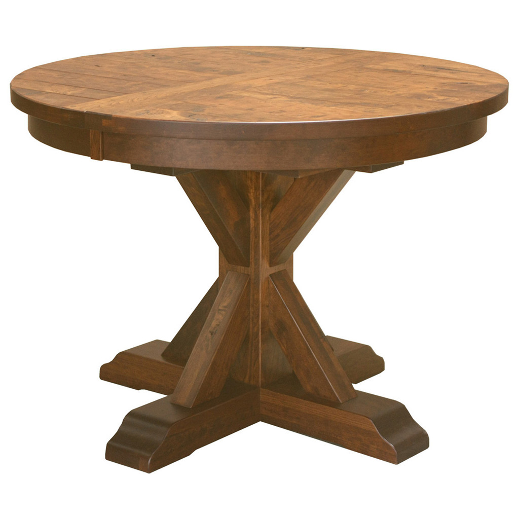 Alberta Single Pedestal Table