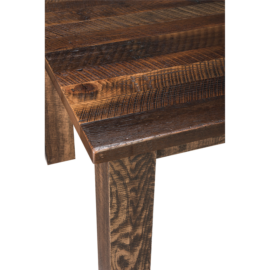 Ashton Leg Table (Barn Wood)