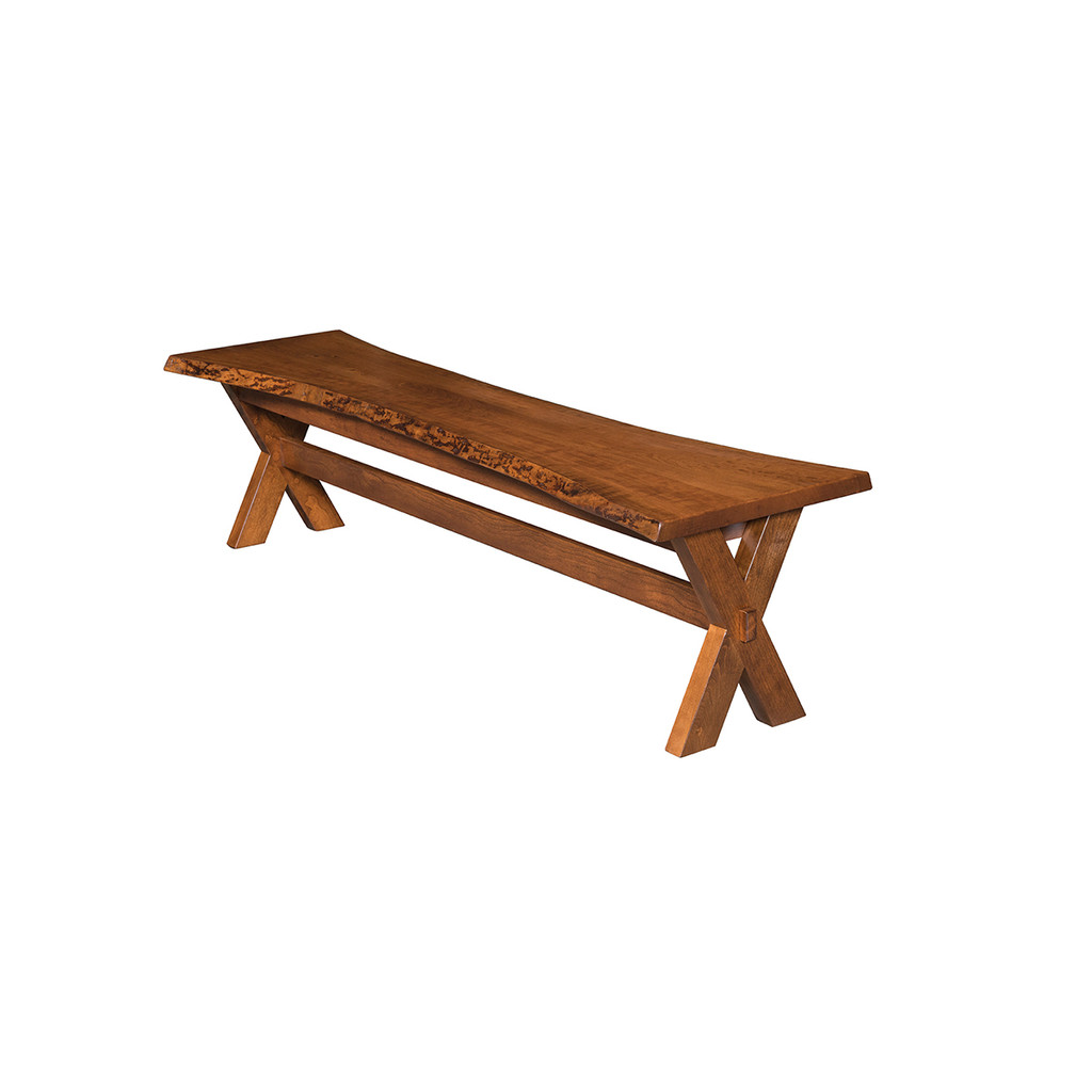 Frontier Bench (Live Edge)
