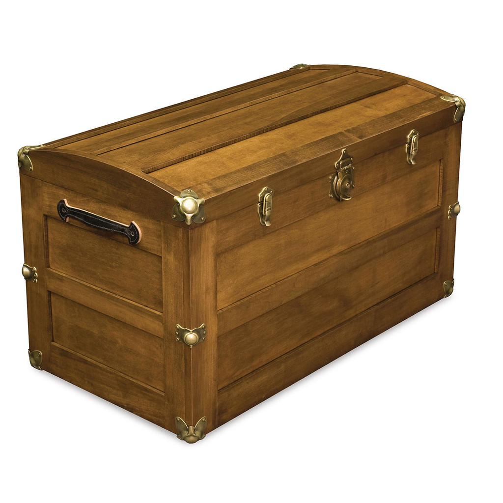 Trunk with Round Lid