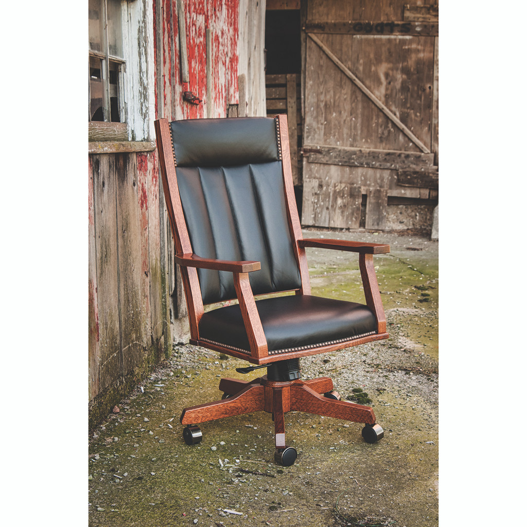 Mission Office Arm Chair (Gas Lift)