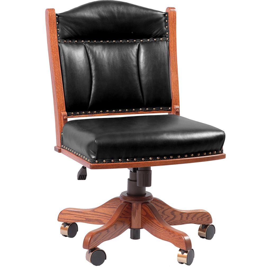 Low Back Side Desk Chair (Gas Lift)
