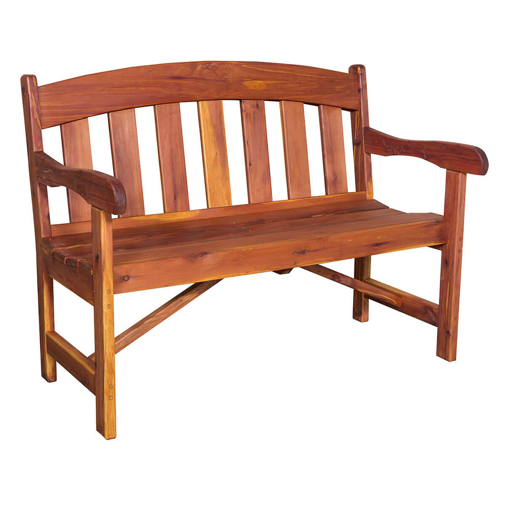 Cedar Garden Bench