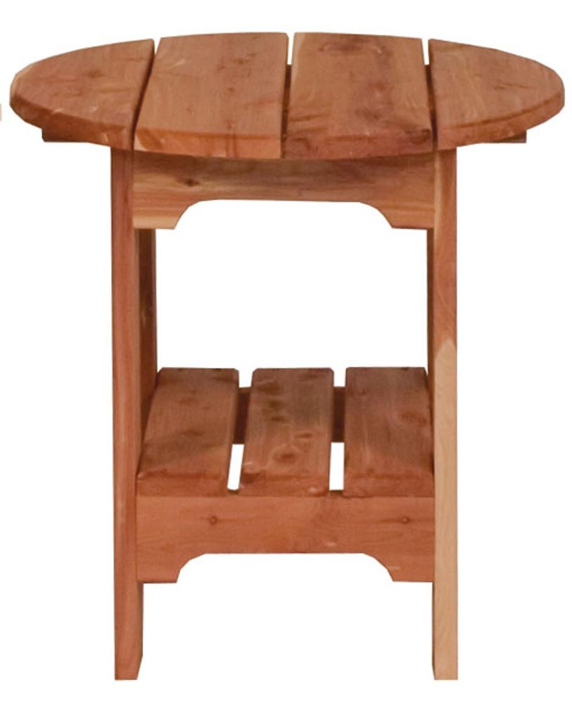 Cedar End Table (Round)