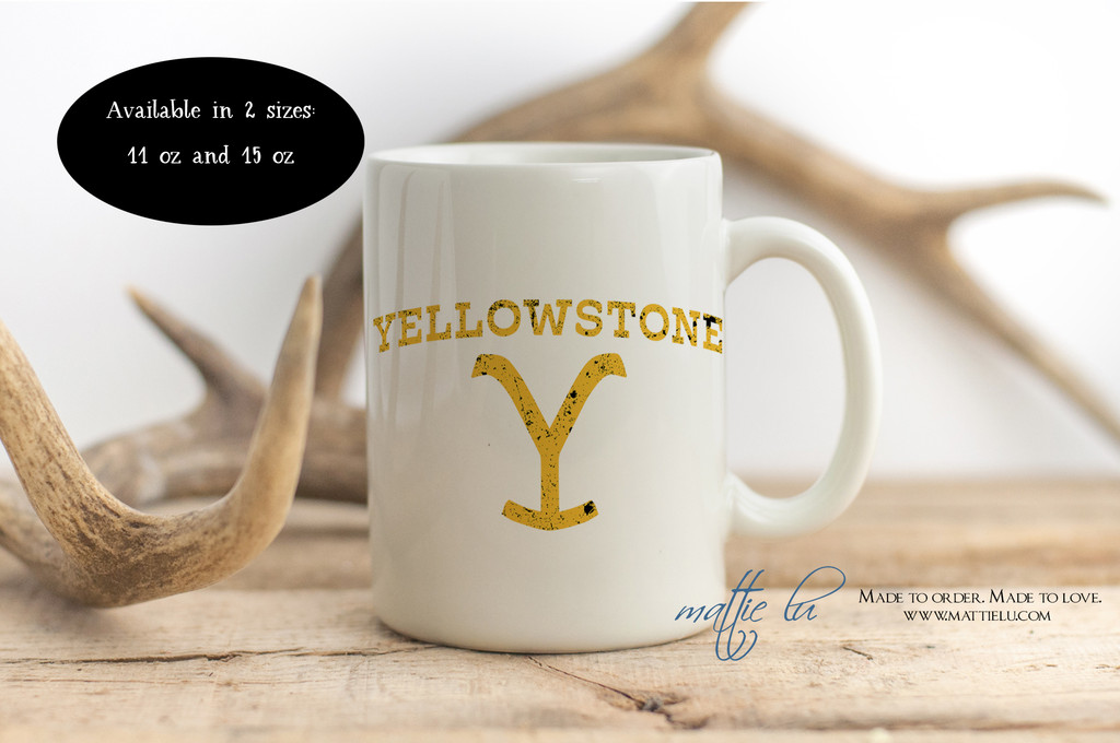 Yellowstone TV Show | Yellowstone Dutton Ranch | Yellowstone Mug | Ceramic Mug | Coffee Mug