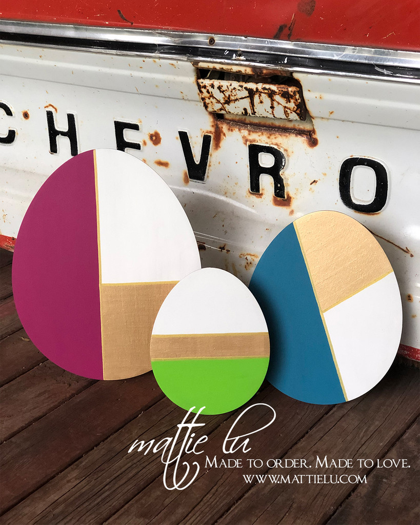 Make & Take Party – DESIGN YOUR OWN Easter Decor Painting Party with Mattie Lu - Coleman, TX