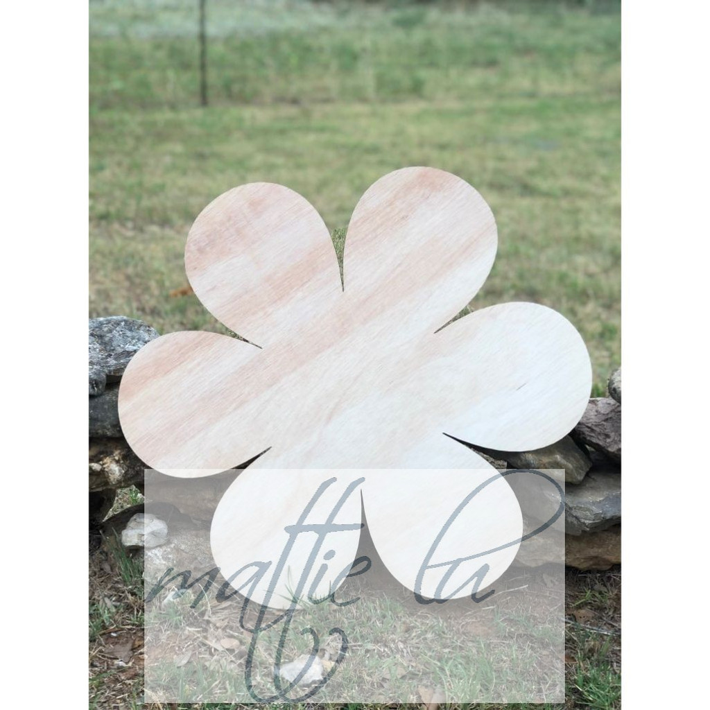 Flower Door Hanger |  Custom Door Hanger | Personalized Front Door Decor