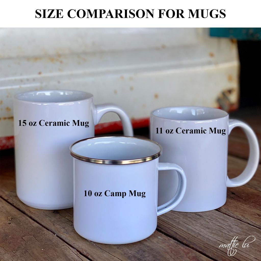 Cattle Brand Enamel Coffee Mug