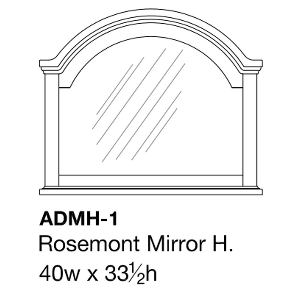 Rosemont Mirror
