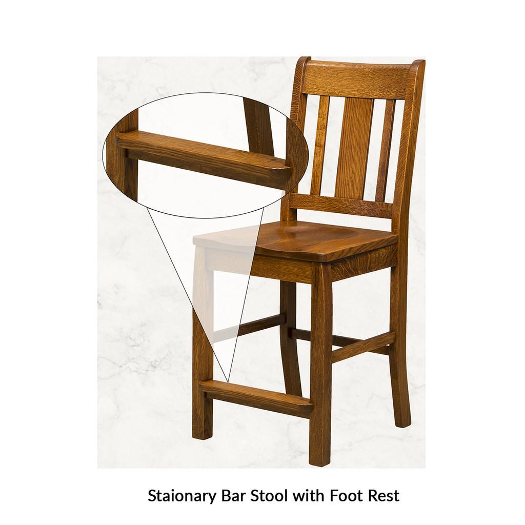 Cavalier Stationary Bar Stool