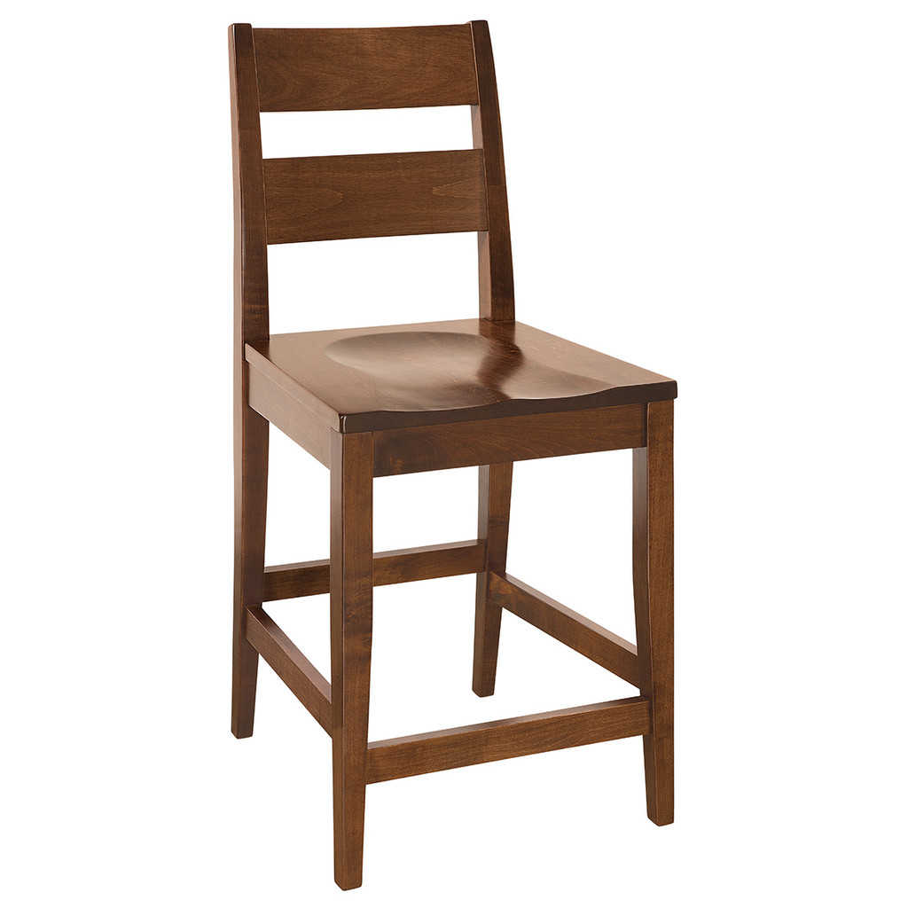 Carson Stationary Bar Stool