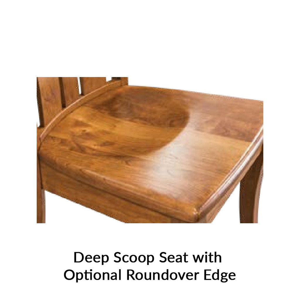 Country Shaker Desk Chair
