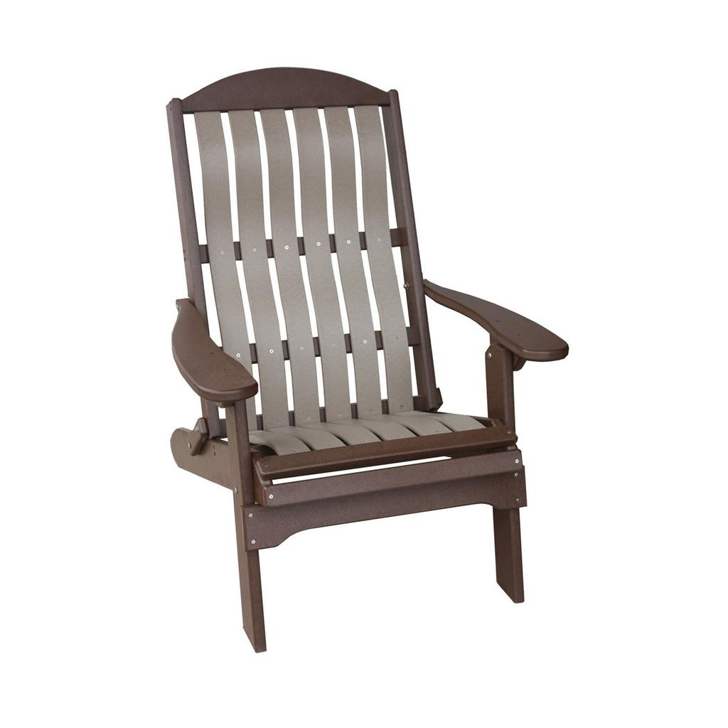 Poly Bent Folding Beach Chair