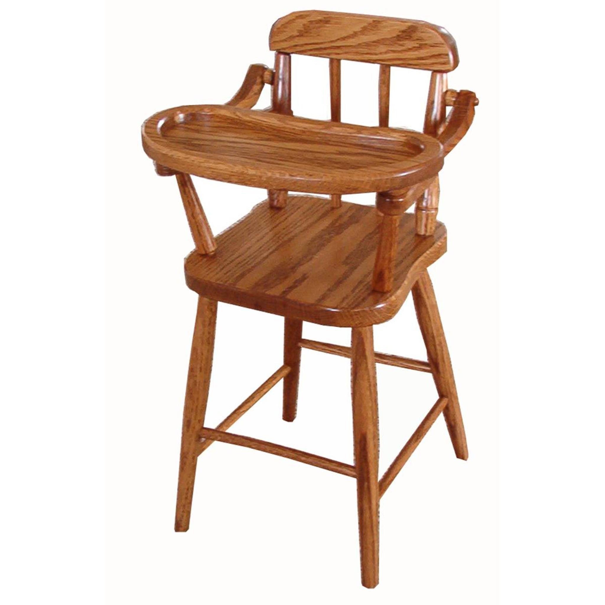 Beau Doll High Chair (Spindles)