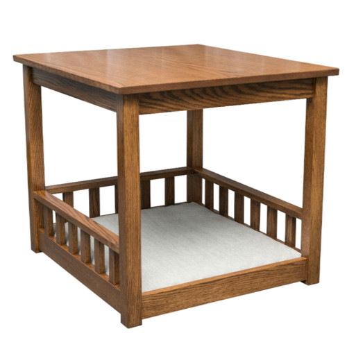 """Sheltie Pet End Table with Pad 23.75"""" x 26.25"""" x 24"""""""