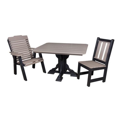 Single Pedestal Table (Poly)