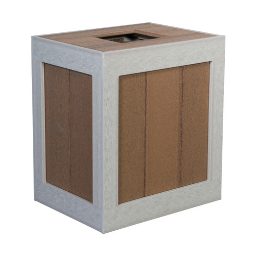 Outdoor Trash Can Cover (Poly)