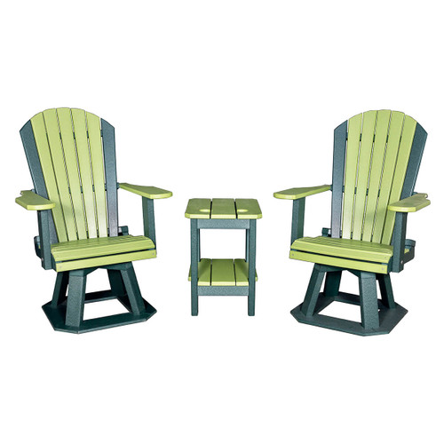 Adirondack Swivel Chair (Poly)