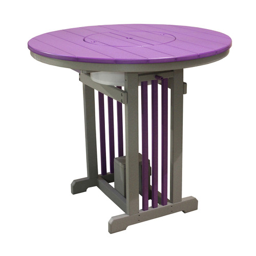 Polywood Mission Pub Table (Party Bowl)
