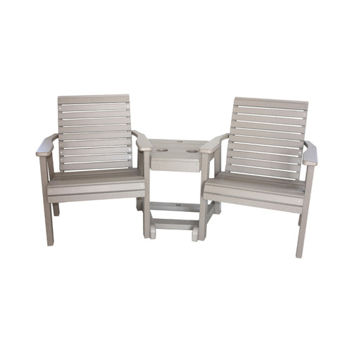 Poly Bent Low Back 3-in-1 Settee
