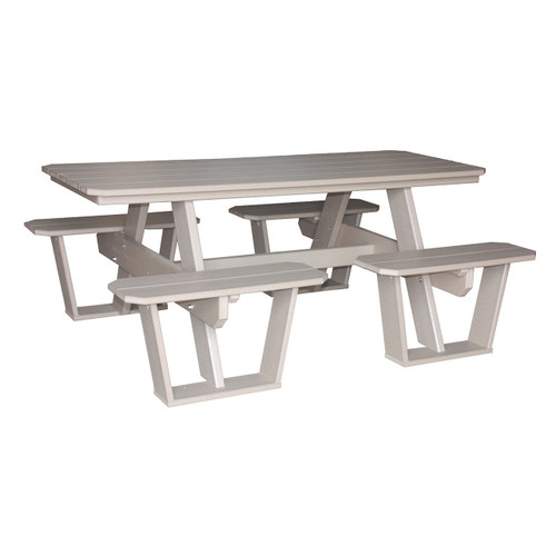 Split Bench Picnic Table