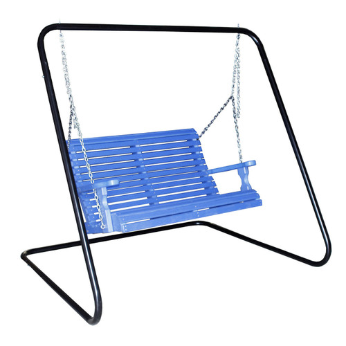 Outdoor Rollback Loveseat Swing