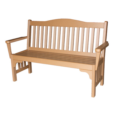 Outdoor Mission Bench