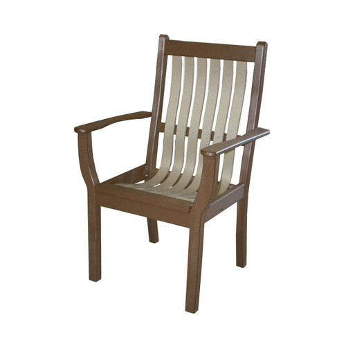 Denver Poly Bent Dining Chair