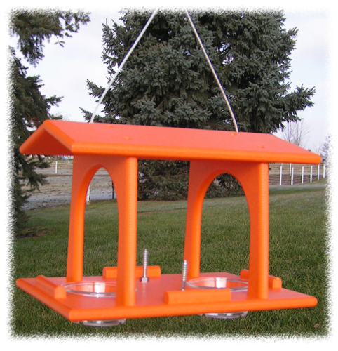 Amish Made Poly Double Oriole Feeder
