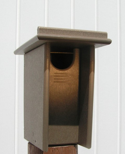 Amish Poly Bluebird House