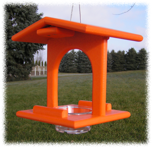 Single Oriole Feeder | Poly Bird Feeder