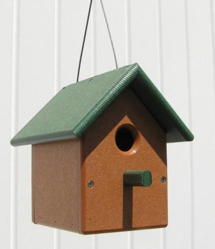 Wren House | Poly Birdhouse for Wrens