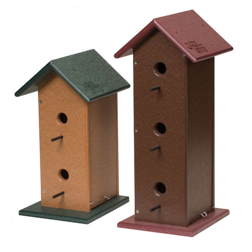 Trio Birdhouse | Large Birdhouse