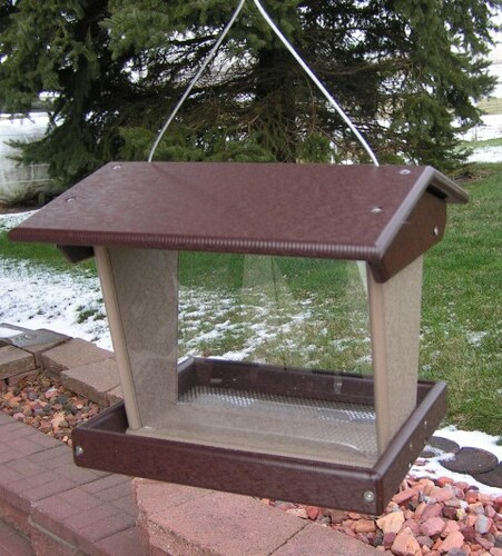 Amish Made Wild Bird Feeders for Large Birds
