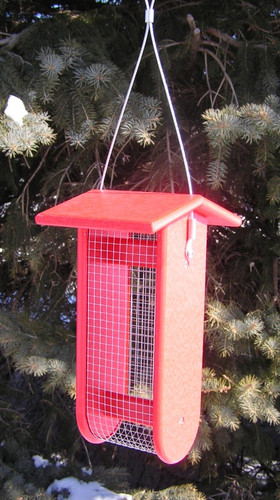 Amish Made Wild Birds Split Peanut Feeder