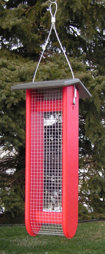 Large Split Peanut Bird Feeder | Amish Bird Feeders Peanuts