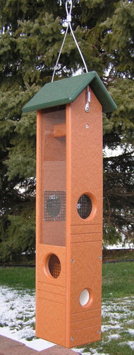 Amish Ultimate Wild Bird Feeder with Suet Plug