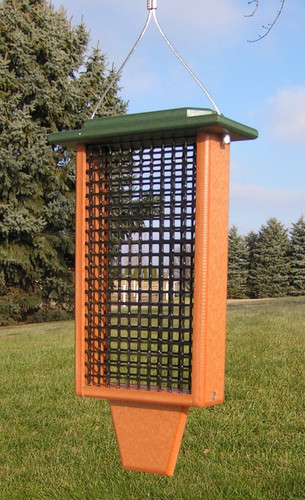 Double Suet Bird Feeder | Amish Bird Feeders Suet