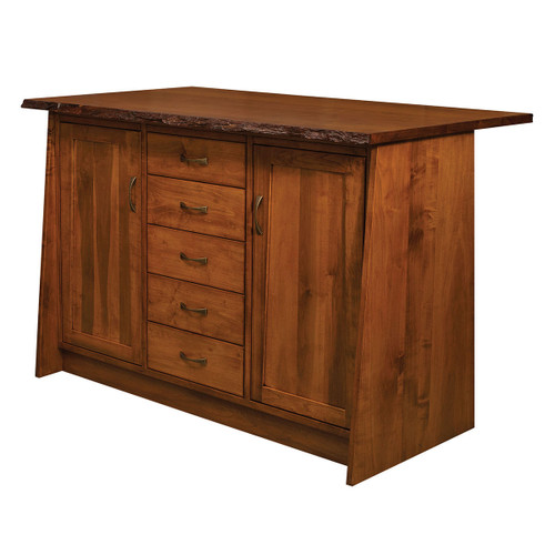 Bayport Kitchen Island (Live Edge)