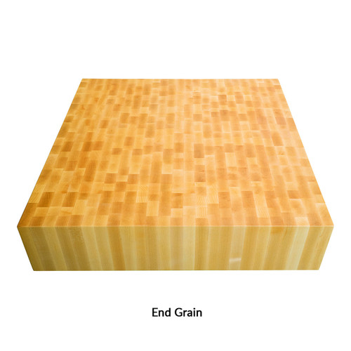 End Grain Chopping Block Island