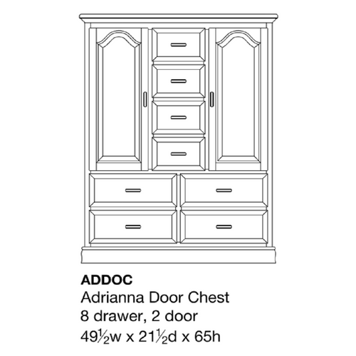 Adrianna Door Chest