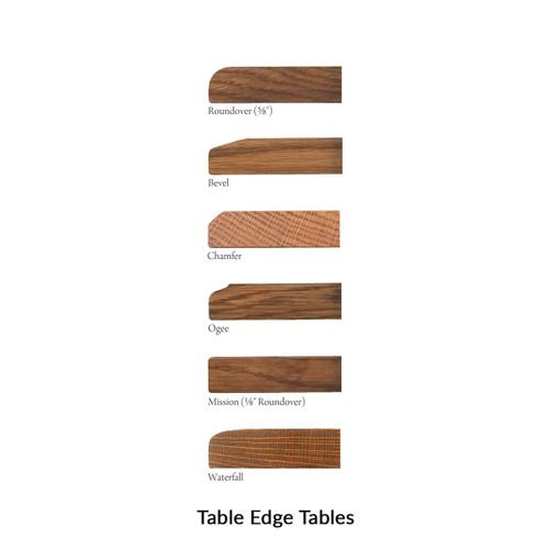 Kingsbury Mission Trestle Table
