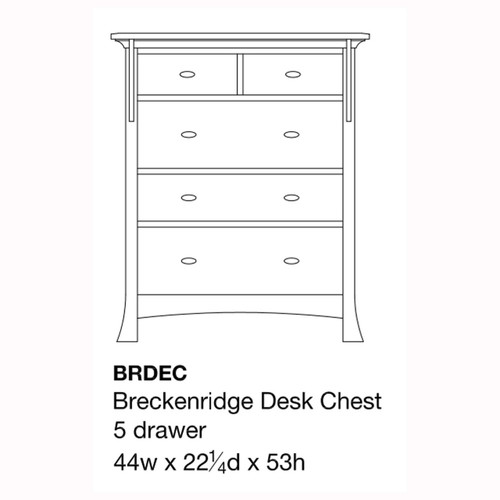 Breckenridge Desk Chest