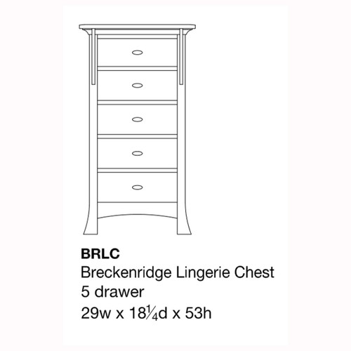 Breckenridge Lingerie Chest