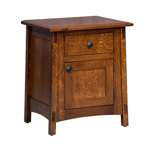McCoy Nightstand (1 Drawer, 1 Door)