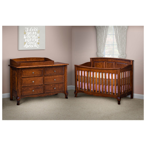 French Country 6-Drawer Dresser