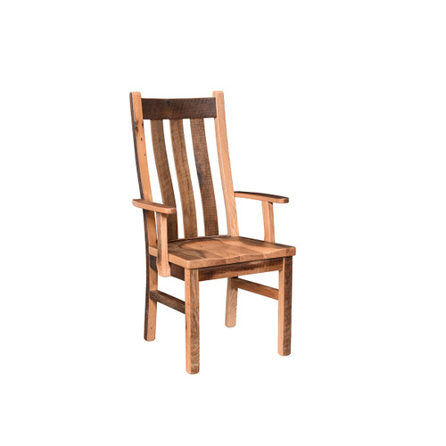 Branson Swivel Bar Chair (Barn Wood)