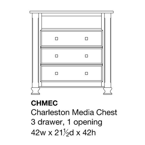 Charleston Media Chest