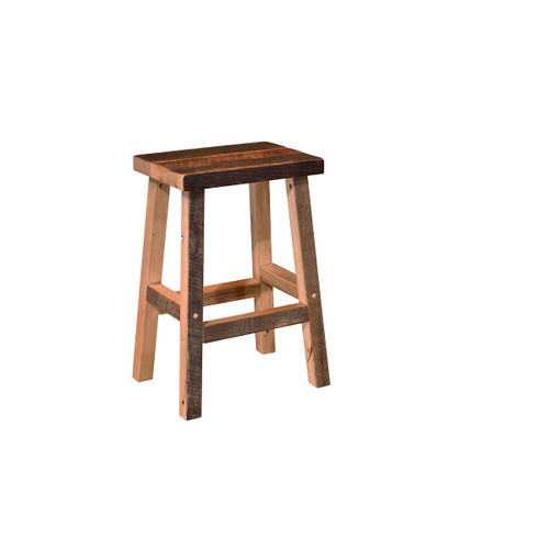Bar Stool (Barn Wood)