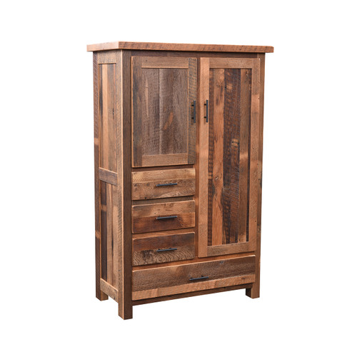 Farmhouse Armoire (Barn Wood)